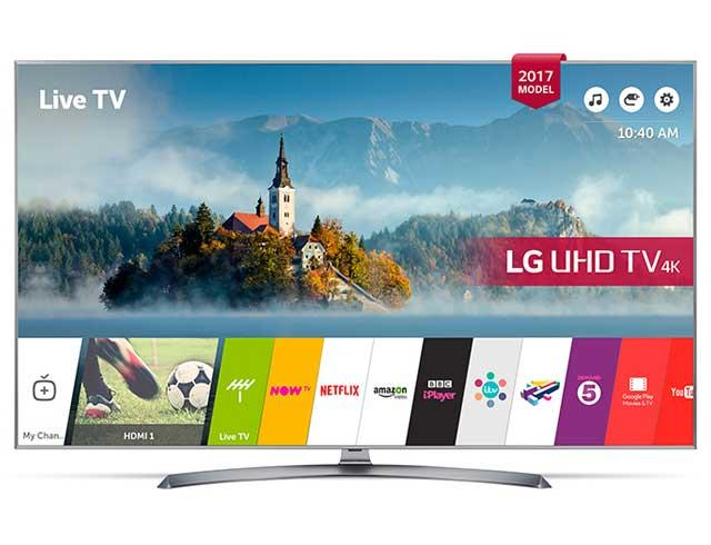"LG 65UJ750V 65"" 4K HDR Ultra HD Smart LED TV"