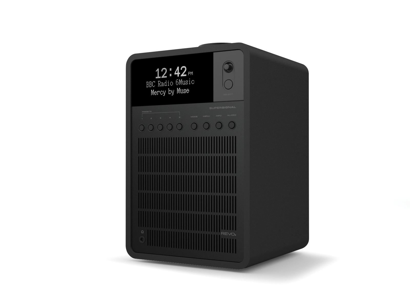 Revo SuperSignal DAB Radio with Bluetooth - Shadow Edition