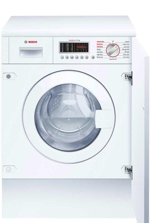 Bosch Serie 6 WKD28541GB 7Kg 1400 Spin Integrated Washer Dryer