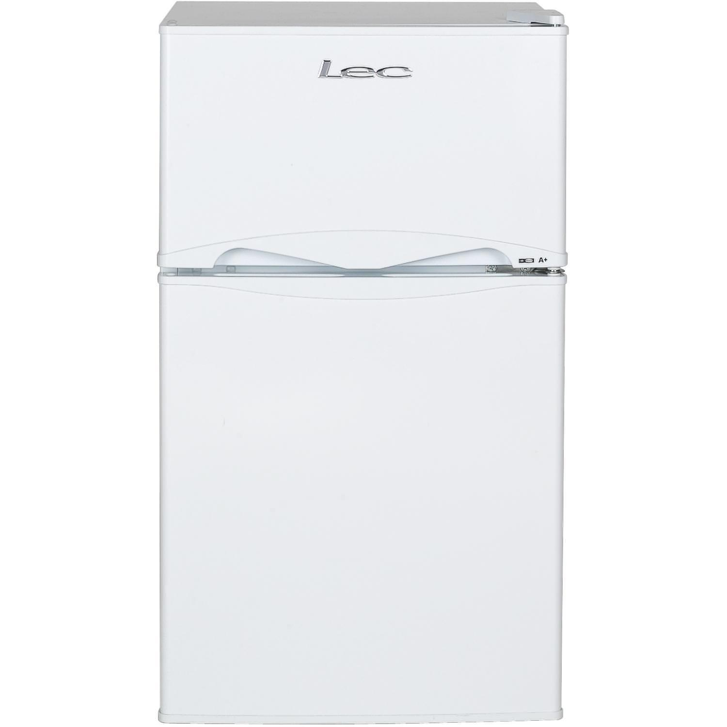 LEC T50084W 87 Litre Auto Defrost Under Counter Fridge Freezer