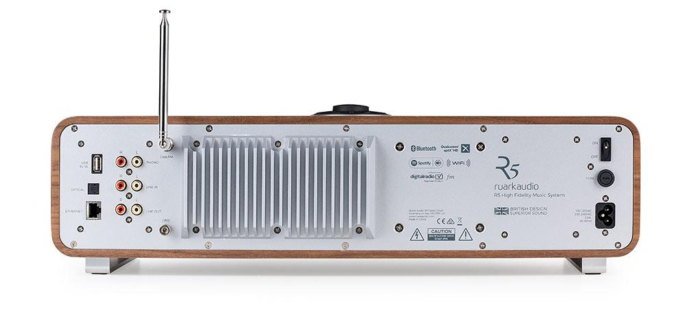 Ruark Audio R5 High Fidelity Music System CD, DAB, Bluetooth | Soft Grey Lacquer