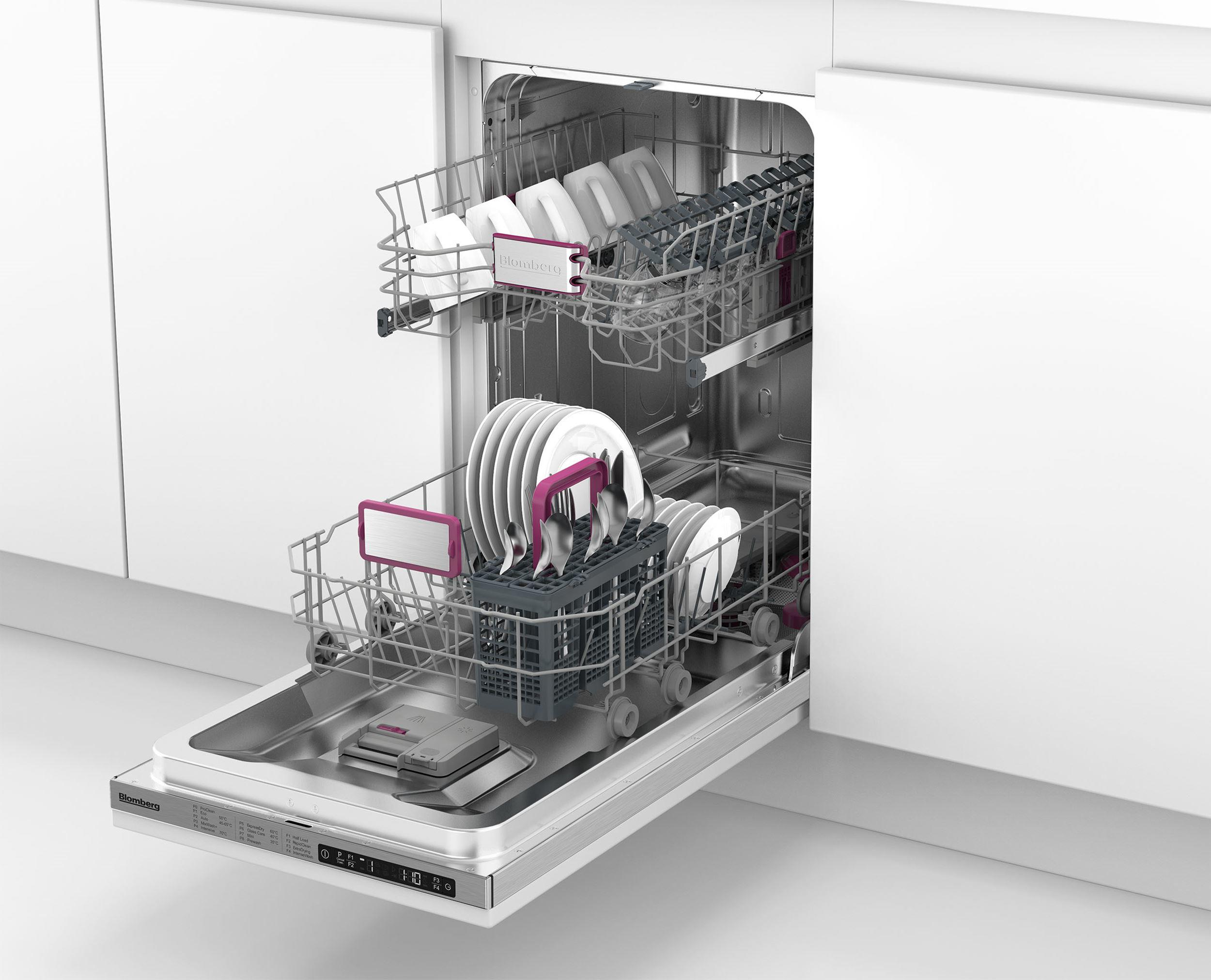 Blomberg LDV02284 45cm A++ Integrated Built-In Dishwasher