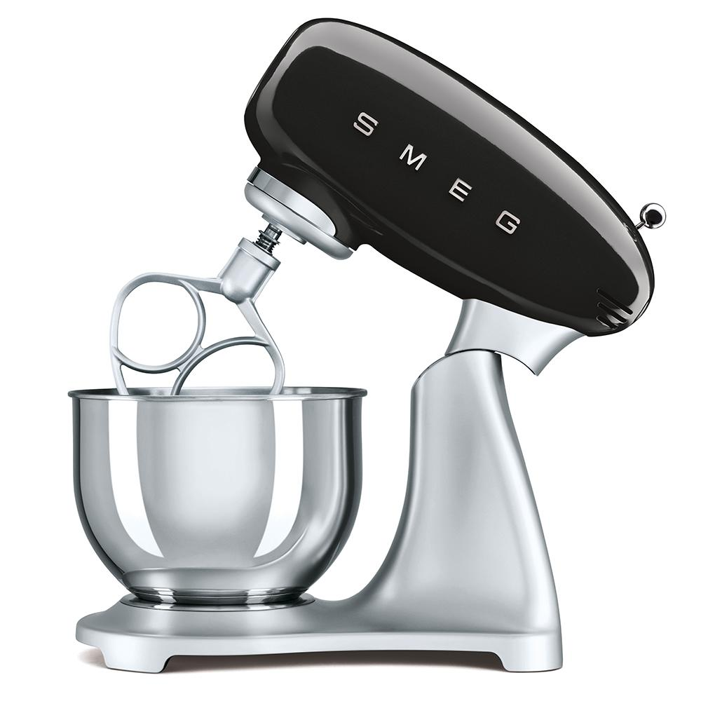 Smeg 50's Retro SMF01BLUK Stand Mixer in Black - ED