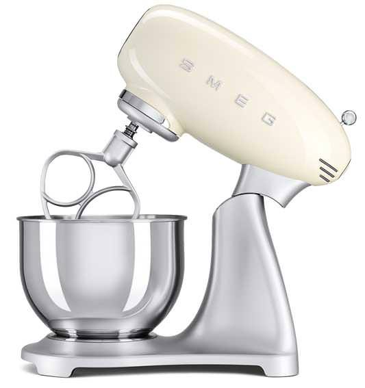 Image of 50's Retro SMF01CRUK Stand Mixer in Cream
