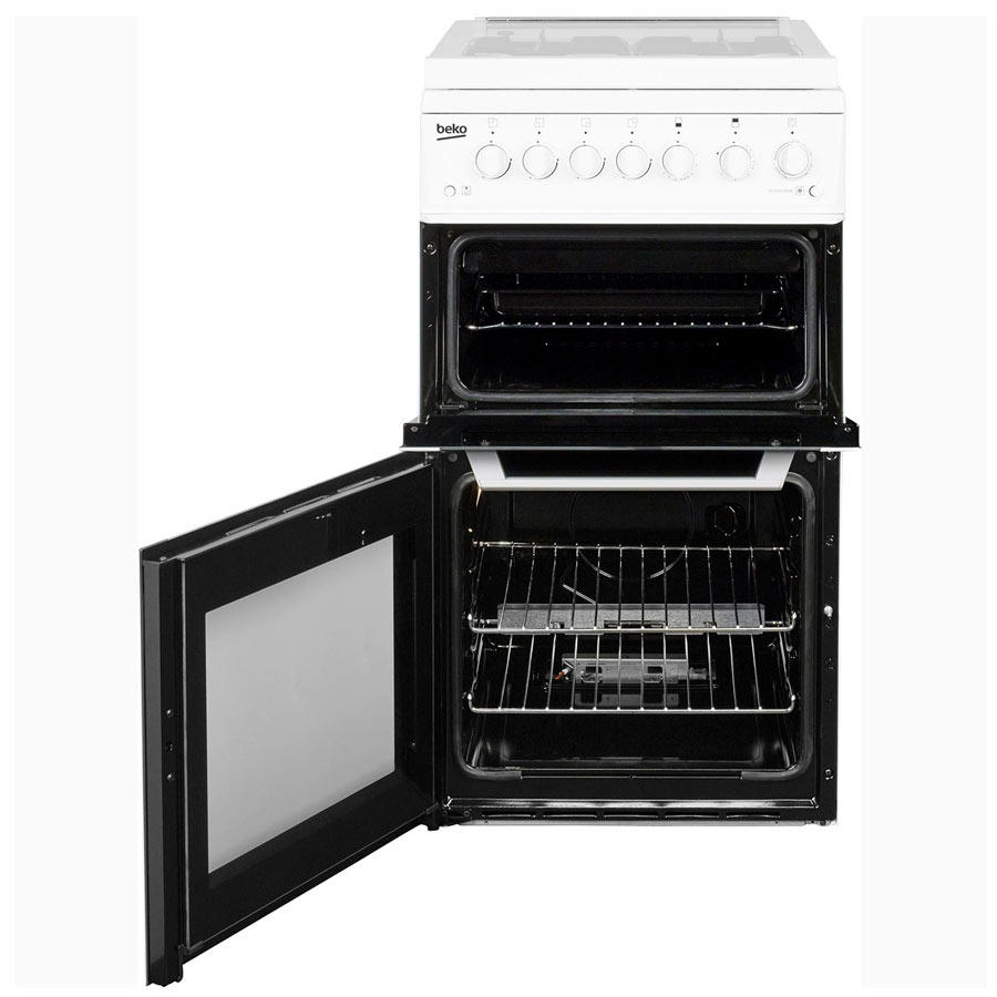 BCDVG505W Gas Double Oven