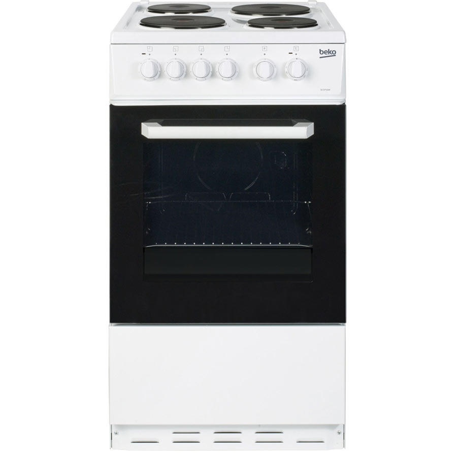 Beko BCSP50W 50cm Single oven electric cooker