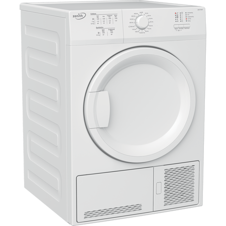 Zenith ZDCT700W 7kg Condenser Tumble Dryer | White