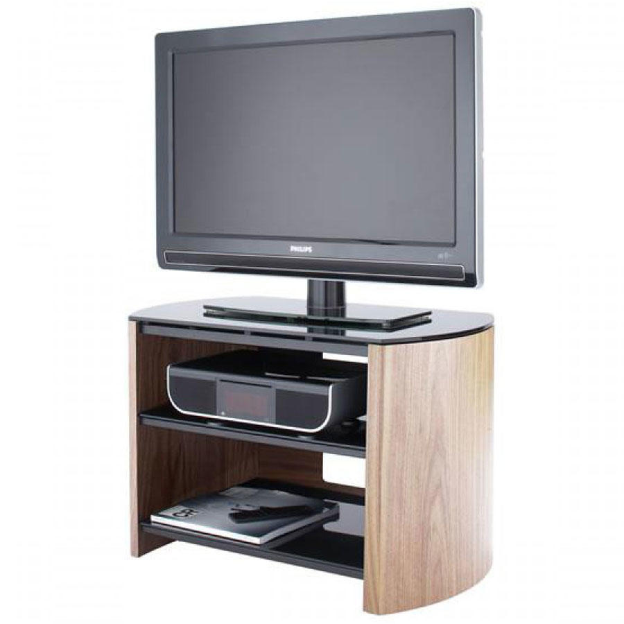 Alphason FW750-LO Finewoods TV Stand in Light Oak