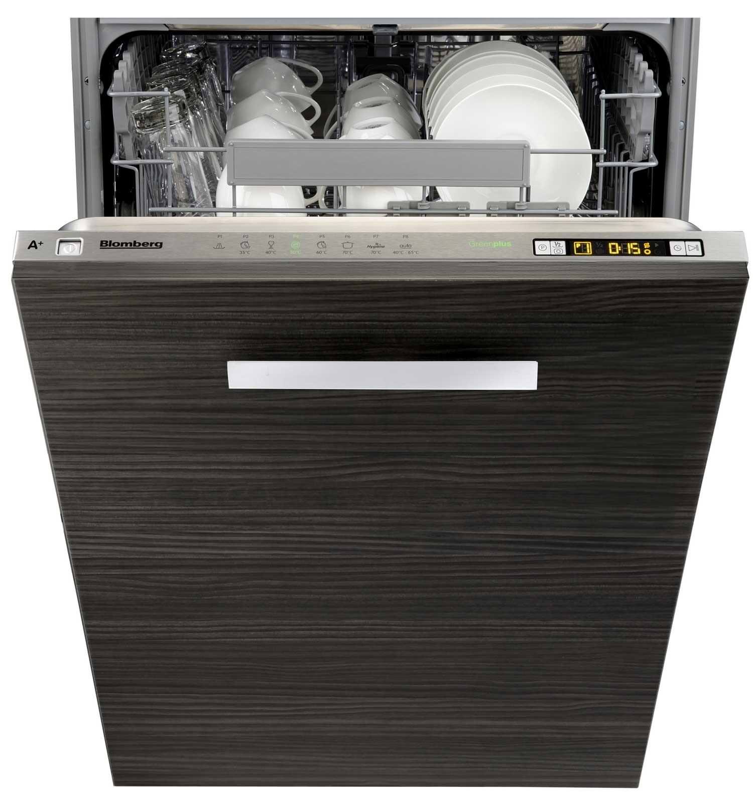 Blomberg ​GVN9483E Built-In 10 Place Setting Full Size Dishwasher