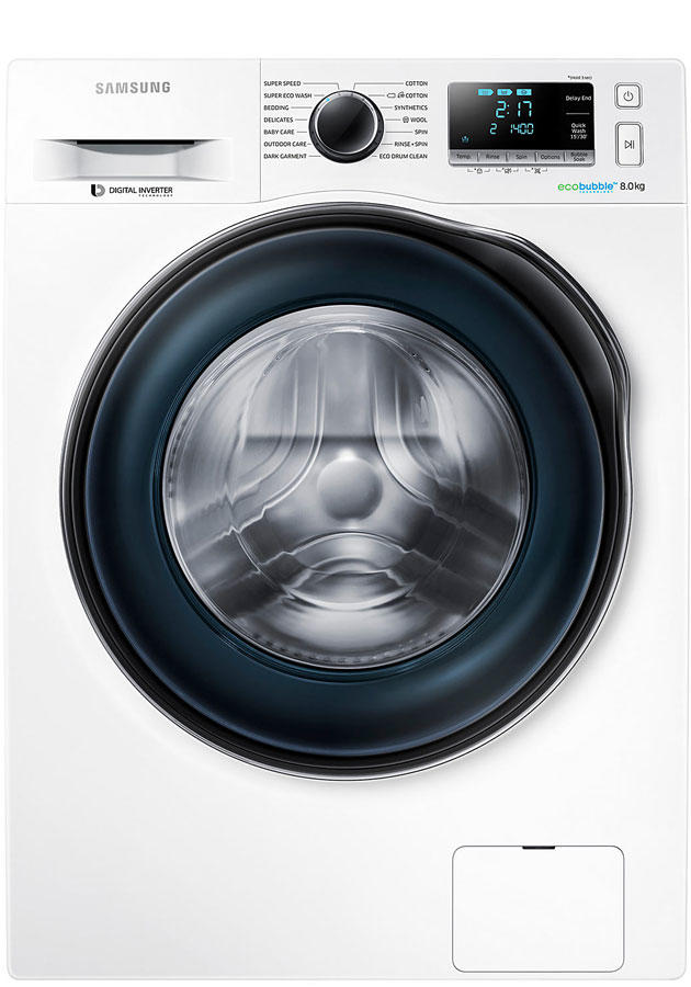 Samsung WW80J6410CW 8Kg 1400 Spin Washing Machine