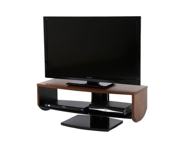 Off The Wall HZN1000 TV Cabinet Stand - Walnut