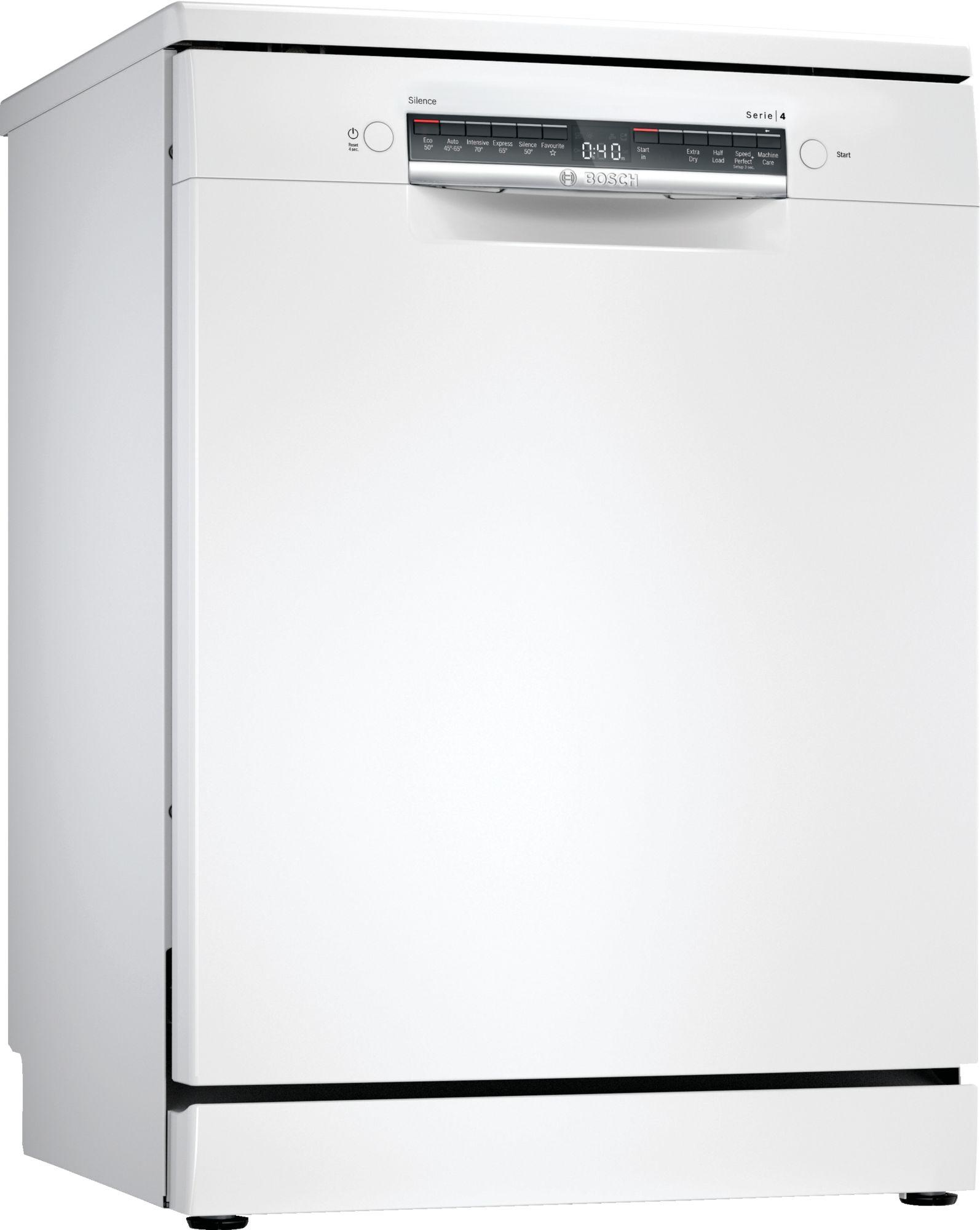 Image of Serie 4 SGS4HAW40G 60cm Standard Dishwasher | White