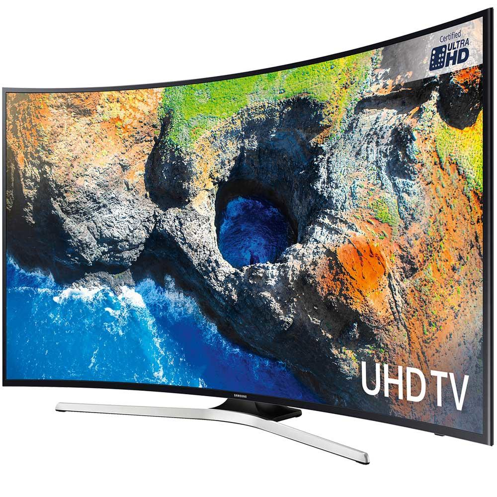 samsung ue49mu6200kxxu ue49mu6200 hdr curved 4k tv. Black Bedroom Furniture Sets. Home Design Ideas