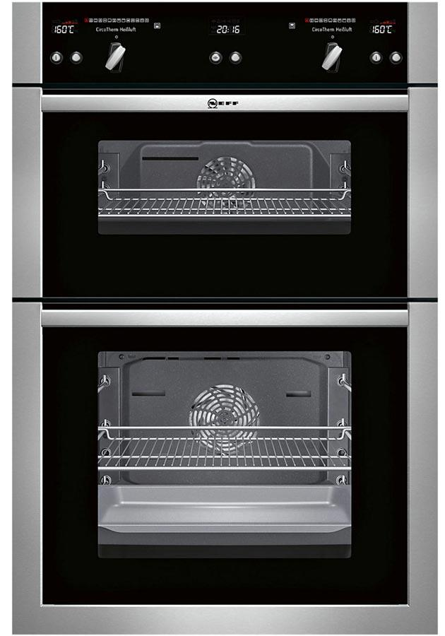 Neff U16E74N5GB Built-In Electric Double Oven