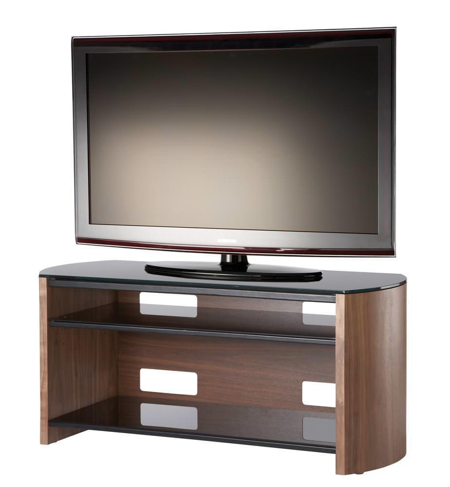 Alphason FW1100-W Finewoods TV Stand in Walnut