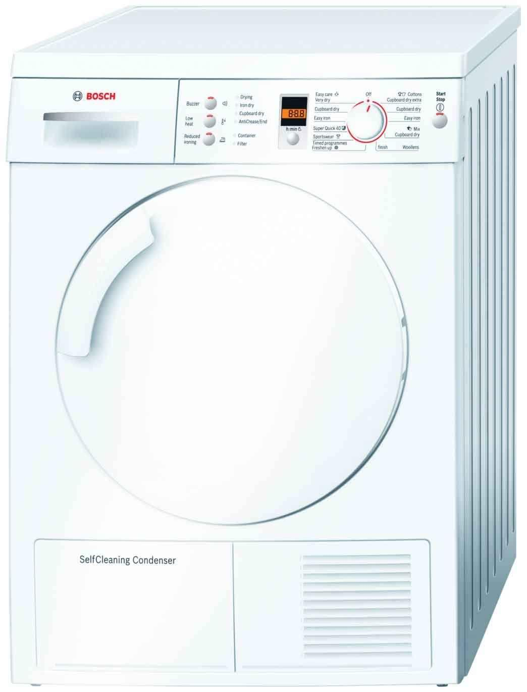Bosch Eco 7 WTW84360GB 7Kg Condenser Tumble Dryer