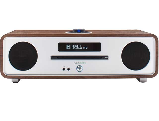 Ruark Audio R4 Mk3 Integrated Music System CD, DAB - Rich Walnut Veneer
