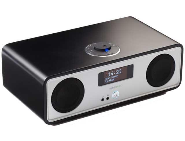 Ruark Audio R2 Mk3 DAB, WiFi, Bluetooth Music System in Soft Black