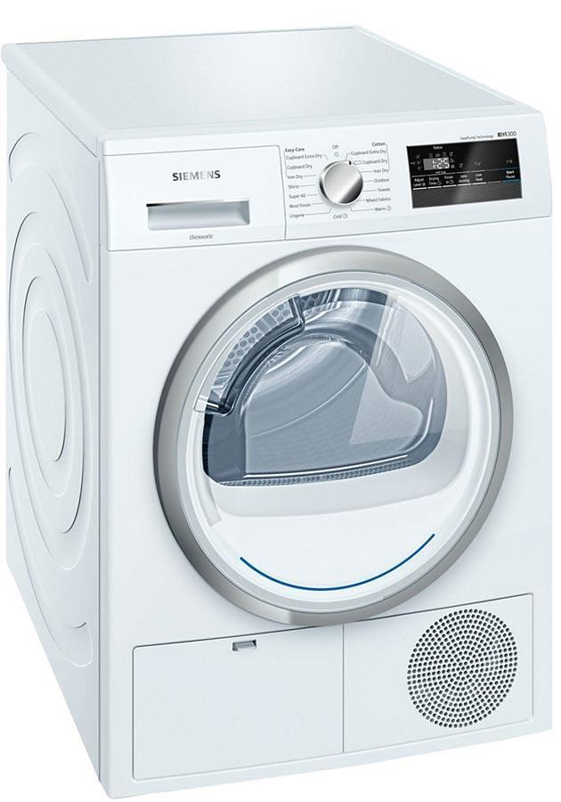 Siemens iQ300 WT45H200GB 8Kg Heat Pump Condenser Tumble Dryer