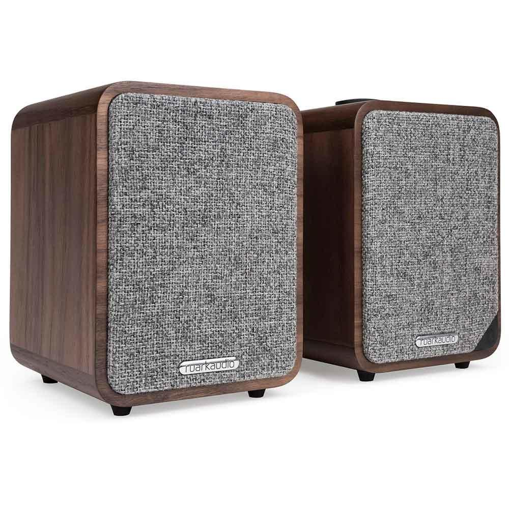 Ruark Audio MR1 Mk2 Bluetooth Speaker System - Rich Walnut Veneer