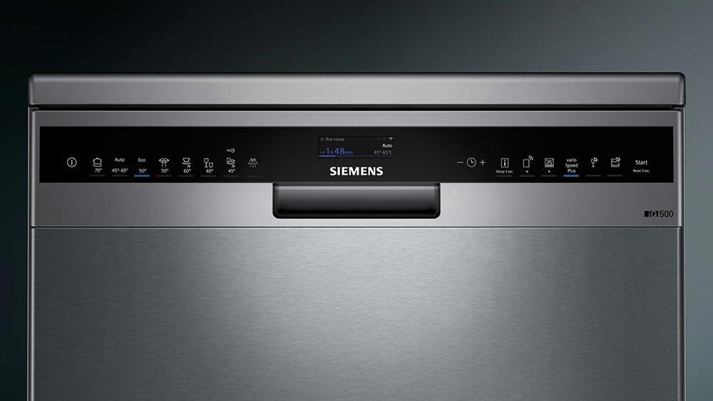 Siemens iQ500 SN258I06TG A++ 60cm Freestanding  Home Connect Dishwasher