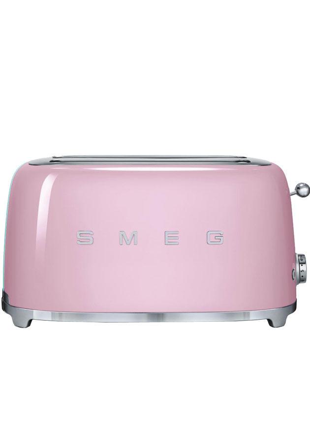 TSF02PKUK Retro 4 Slice Toaster  Pink