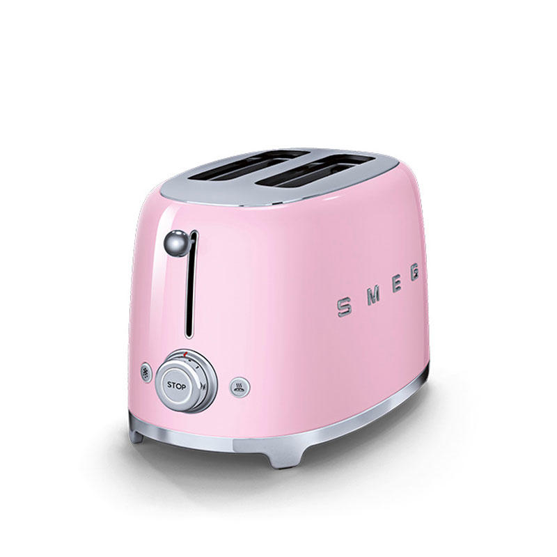 smeg tsf01pkuk retro 2 slice toaster pink. Black Bedroom Furniture Sets. Home Design Ideas
