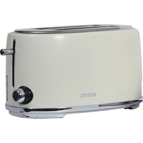 Linsar KY832CREAM 4 Slice Toaster - Cream