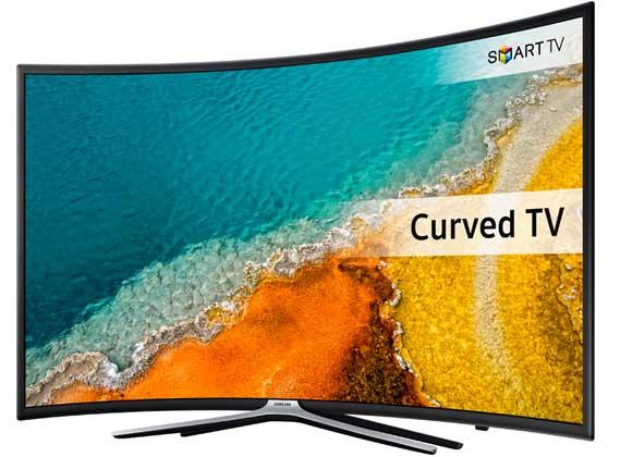 "Samsung UE55K6300 55"" Curved Smart LED TV"