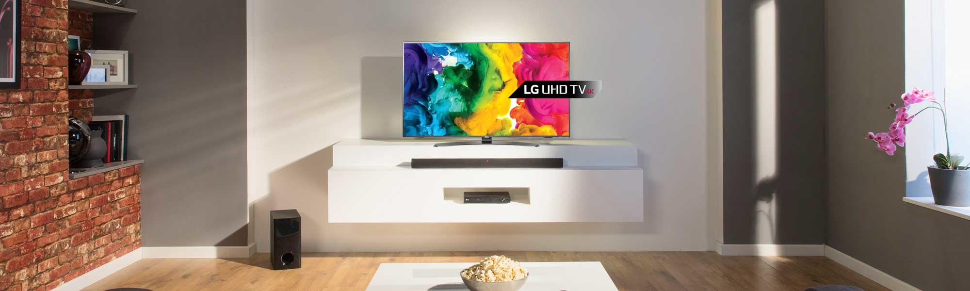 "LG 65UH661V 65"" 4K HDR Ultra HD LED TV"