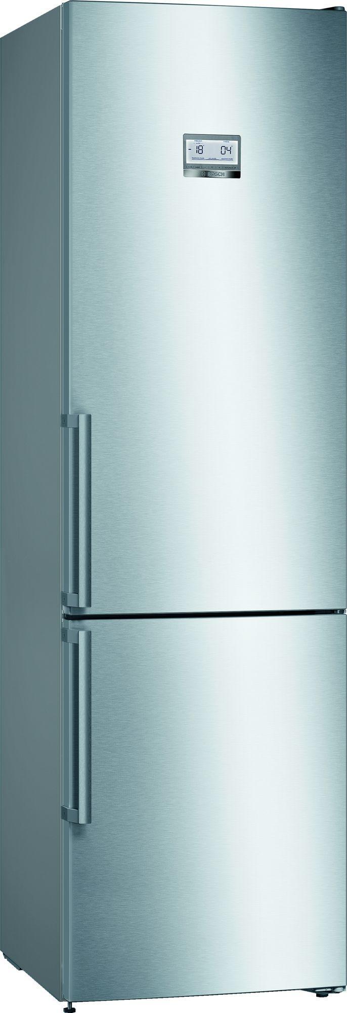 Image of Serie 6 KGN39HIEP 60cm 366 Litre No Frost Fridge Freezer | Silver Innox