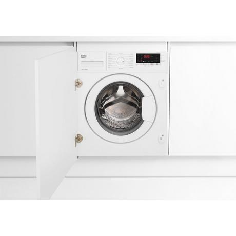 Image of WTIK74151F 7kg 1400 Spin Built-In Washing Machine - White