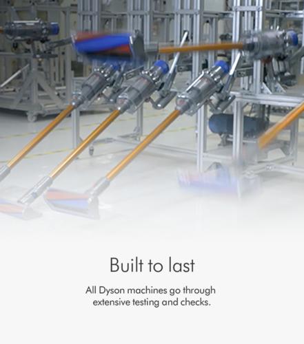 dyson built to last