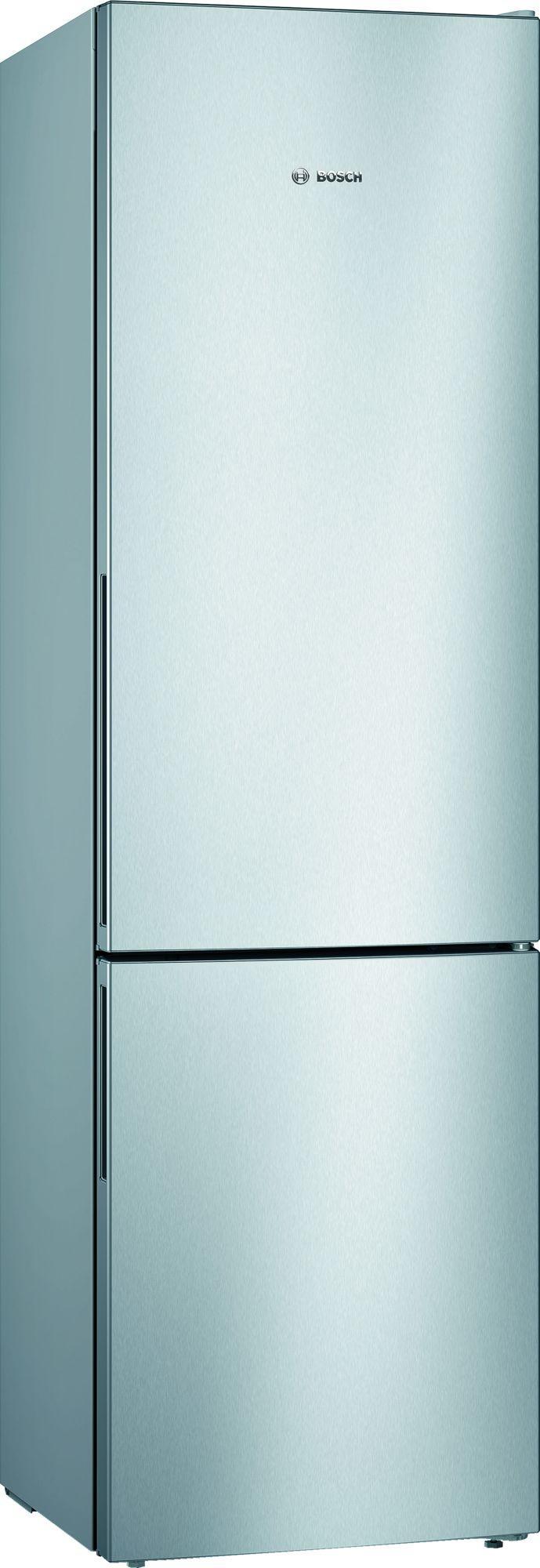 Image of Serie 4 KGV39VLEAG 342 Litre Fridge Freezer | Silver Innox