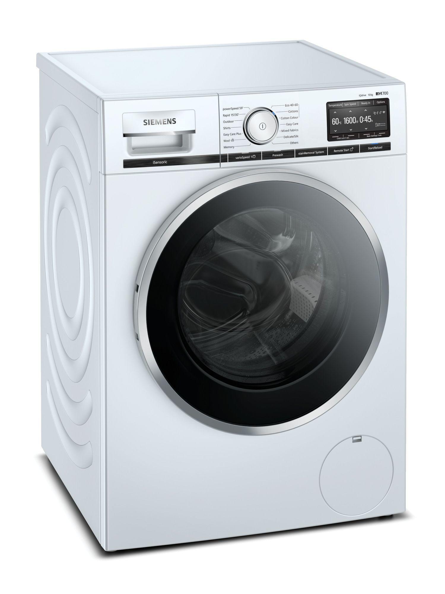 Image of iQ700 WM16XGH4GB 10Kg 1600 Spin Washing Machine   White
