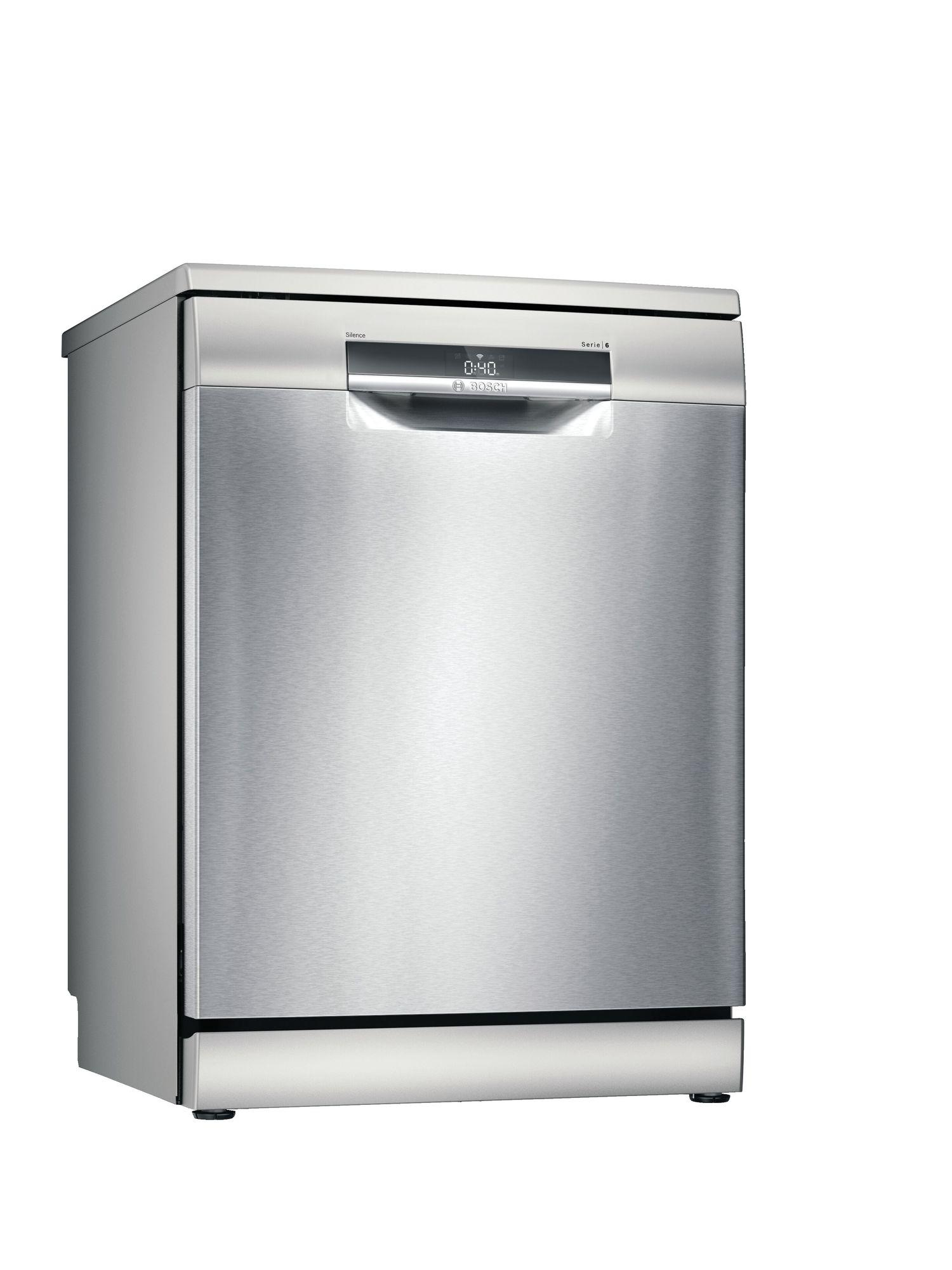 Image of Serie 6 SMS6EDI02G 60cm Standard Dishwasher | Silver Innox