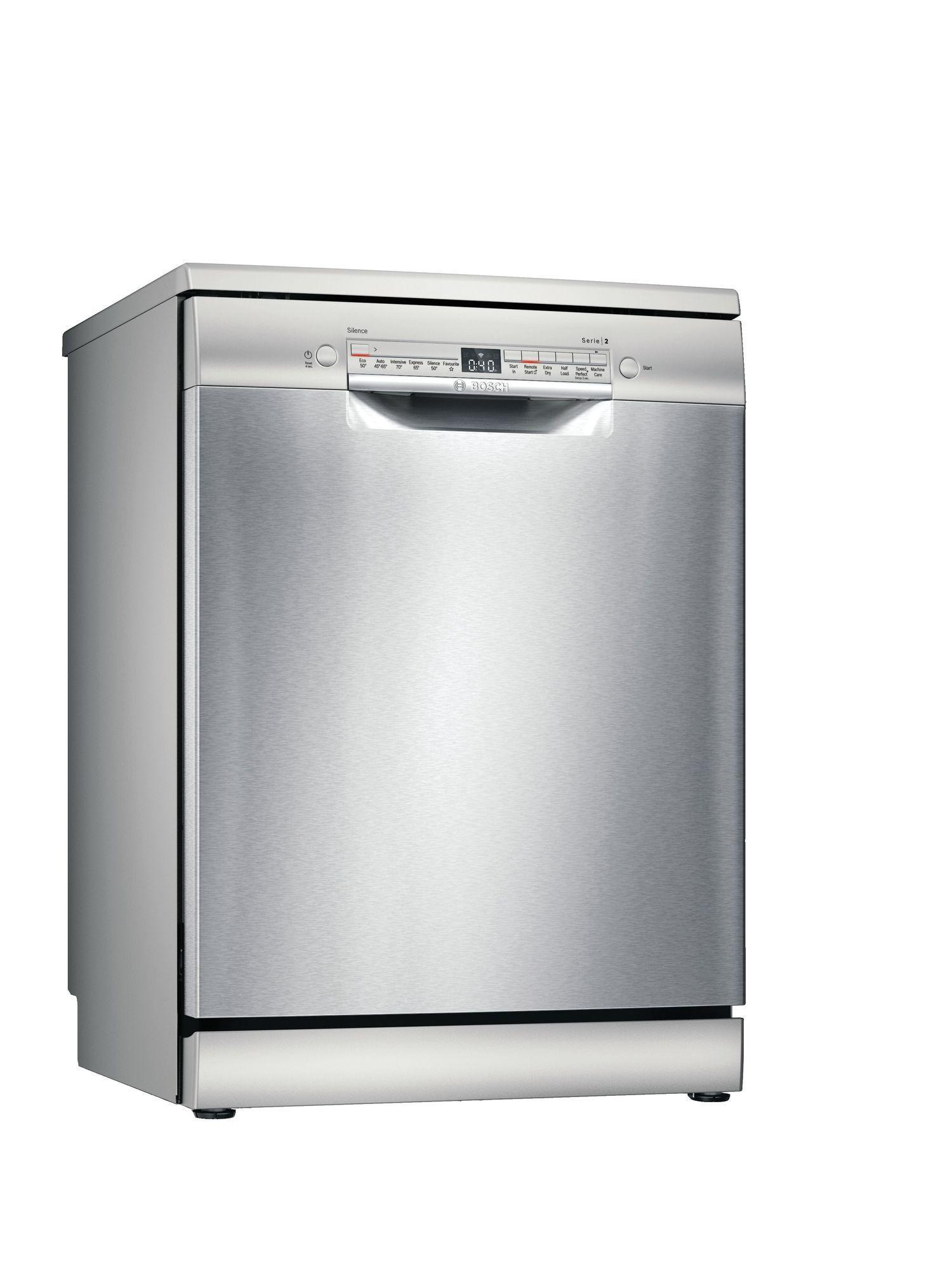 Image of Serie 2 SMS2HKI66G 60cm Standard Dishwasher | Silver Innox