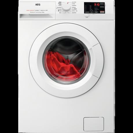 Image of L6WEJ841N 8kg/4kg 1600 Spin Freestanding Washer Dryer | White