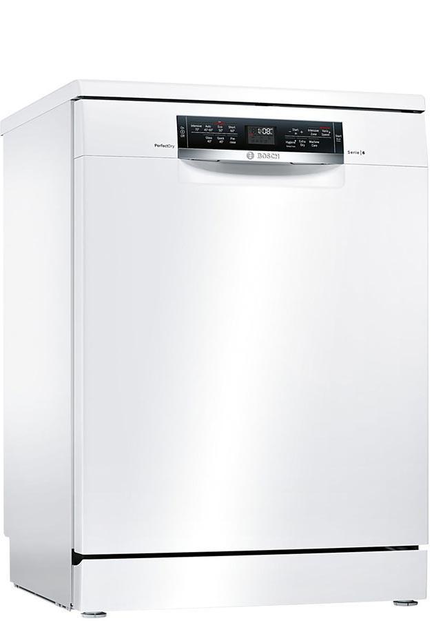 bosch serie 6 sms67mw00g sms67mw00g freestanding dishwasher. Black Bedroom Furniture Sets. Home Design Ideas