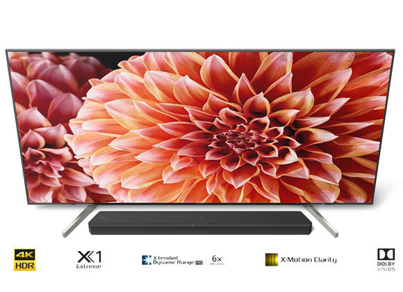"Sony BRAVIA KD65XF9005 65"" Android 4K HDR Premium Smart LED TV"
