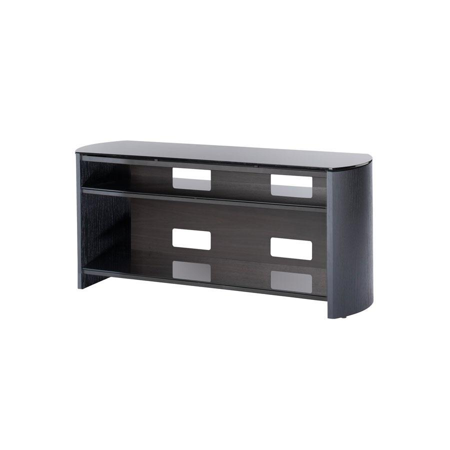 Alphason FW1100-BV Finewoods TV Stand in Black Oak