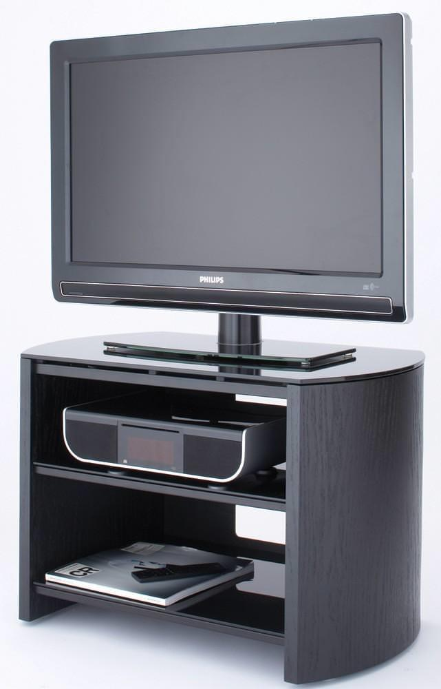 Alphason FW750-BV Finewoods TV Stand in Black Oak