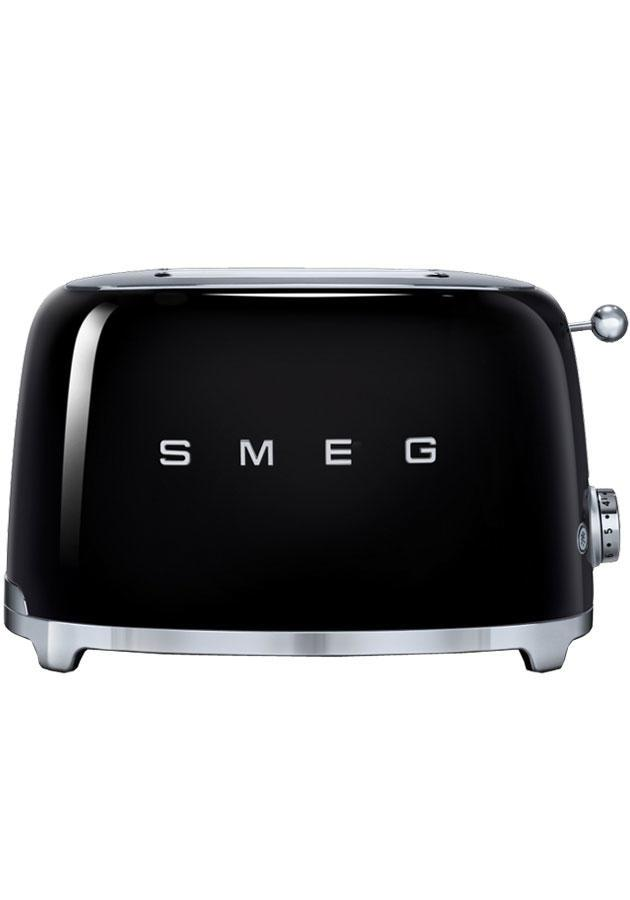 Smeg 50's Retro TSF01BLUK 2 Slice Toaster in Black