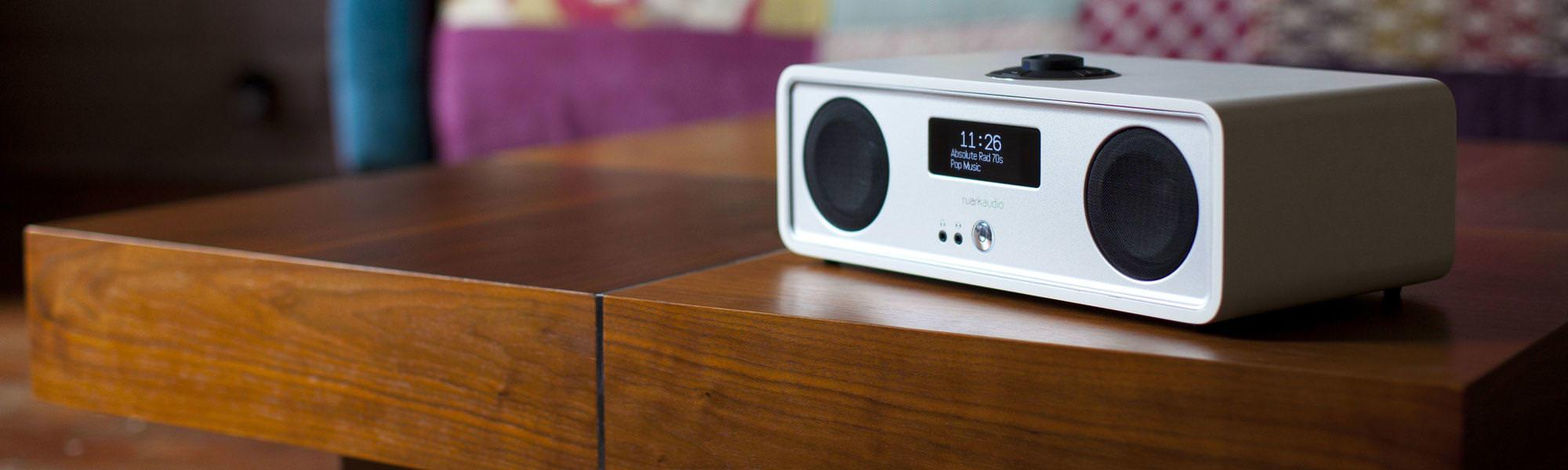 Ruark Audio R2 Mk3 DAB, WiFi, Bluetooth Music System in Soft White