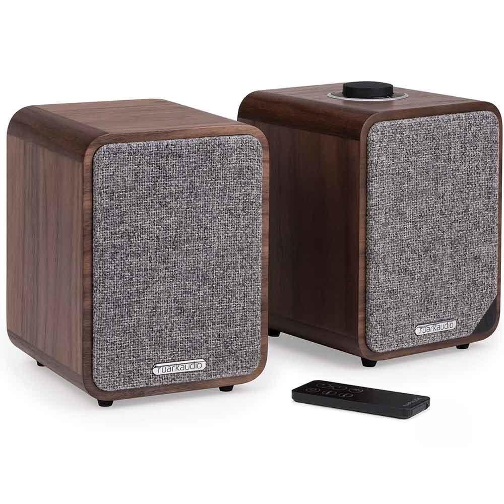 Ruark Audio MR1 Mk2 Bluetooth Speaker System in Rich Walnut Veneer