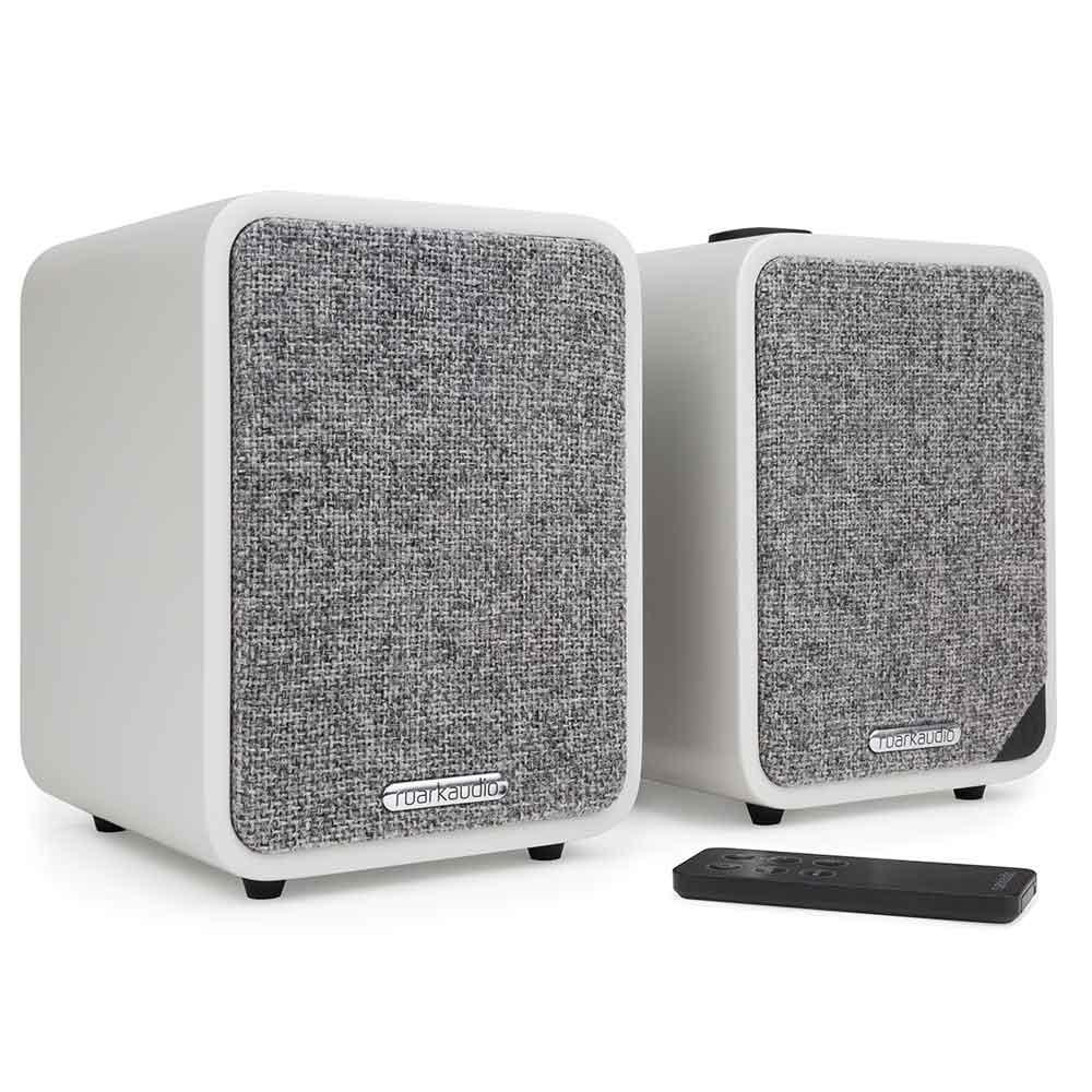 Ruark Audio MR1 Mk2 Bluetooth Speaker System in Soft Grey Lacquer