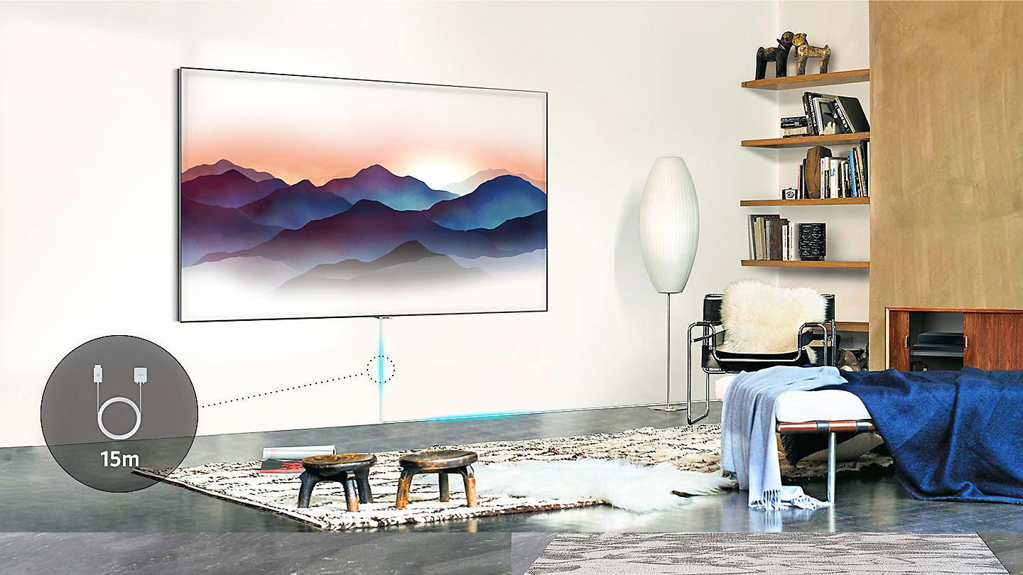 Samsung One Near Invisible QLED TV Cable Explained
