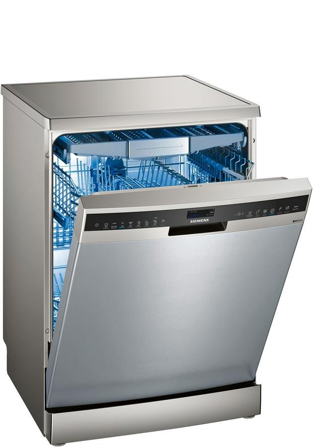 Siemens iQ500 SN258I06TG Home Connect A++ 60cm Dishwasher - Silver
