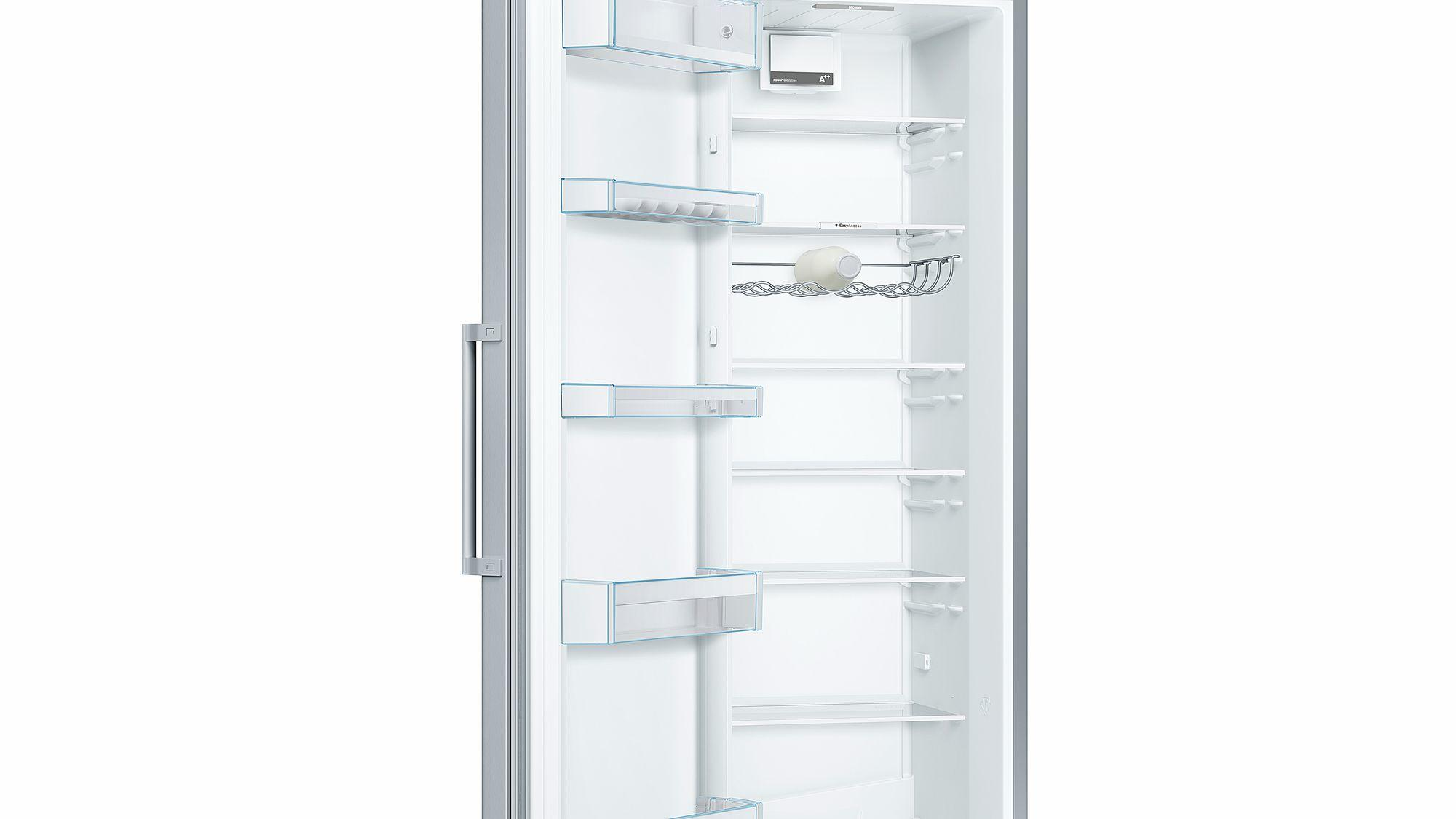 Bosch Serie 4 KSV36VL3PG 346 Litre Tall Single Door Larder Fridge