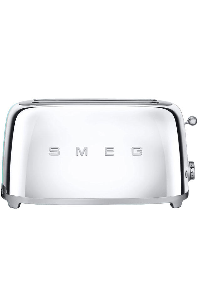 TSF02SSUK Retro 4 Slice Toaster  Chrome